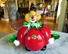 Large Vintage Murano Glass Clown with Original Label