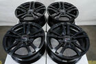 14 Black Rims Fits Toyota Yaris Prius C Corolla Scion Xb Xa Iq Ia Civic Wheels