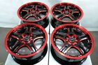 15 Red Wheels Fits Mazda 3 5 6 Miata Mazdaspeed3 Mazdaspeed6 Mx 5 Mr2 Rims