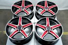 17 Red Wheels Fits Mazda 3 5 6 Mx 5 Miata Rx8 Mazdaspeed3 Mazdaspeed6 Rims