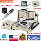 345 Axis Cnc 6040 Usb Port 1500w Router Milling Engraving Cnc Cutting Machine