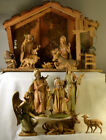 323 12 piece Fontanini 7 Nativity with Stable Italy