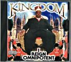 KINGDOM - I REIGN OMNIPOTENT CD ALBUM 21 TRX RARE DENVER G-FUNK GANGSTA RAP 1998