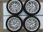 BMW E30 318is 325is and VW Aluminum Wheel Set 4x100 by Ireland Engineering