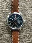 Fortis Classic Cosmonauts Chronograph PM on Strap Plus Extra Straps