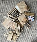 Backgrounds And Borders Mounted Rubber Stamp Lot Of 22 Stamps