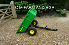 NEW JOHN DEERE HEAVY DUTY 10P TIPPING TRAILER COMPACT TRACTOR 280ltr PLASTIC
