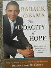 Barack Obama The Audacity of Hope Signed 1st 1st certified