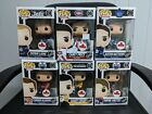Funko Pop! NHL Canadian Exclusive Lot of 6 (Gretzky, Crosby, McDavid, + more)