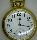 1921 E Howard 21 jewel Arrow  Star Railroad Grade Pocket watch in 10k GF Case