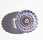 PERTHSHIRE SPECIAL FACETED MILLENNIUM PAPERWEIGHT4 1  WIDE X 1 HIGH SCA2000