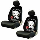 For Buick Betty Boop Car Truck Suv Seat Headrest Steering Wheel Covers New