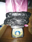 CHRISTMAS very SPECIAL GLASS TYPE shiny Anthracite Coal 11 LB 1 lump NE PA