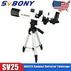 SV25 60420 Refractor Telescope Astronomical Compact +Tripod for student training