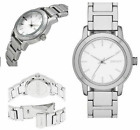 DKNY TOMPKINS NY2209 Silver Tone Stainless Steel Women Watch New!!