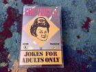 "GENE TRACY JR. ""Jokes For Adults Only� CASSETTE 1993 Rated X EXCELLENT"