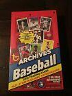 2019 TOPPS ARCHIVES BASEBALL HOBBY BOX !! BRAND NEW AND FACTORY SEALED