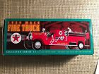 Vintage Ertl Collectibles 1929 Mack Fire Truck Texaco Die-Cast Metal Bank #F415