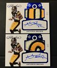 Antonio Brown Flawless Patch Auto(s) 3 Game-Used Material Steelers
