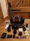 Canon EOS 7D Bundle - Body, lenses, batteries, memory cards, bag, tripod