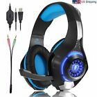 Gaming Headset Bass Headphone for Playstation PS4 Xbox One PC Game Laptop iPhone