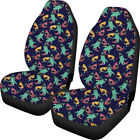 Cool Animal Shark Car Seat Cover For Men Boys Front Seat Cushion Mat 2 Pack