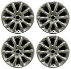 20 Lincoln MKT 2010 2011 2012 Factory OEM Rim Wheel 3825 Full Polish Set
