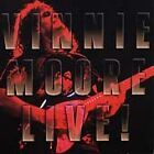 Vinnie Moore, VINNIE MOORE LIVE, Very Good, Audio CD