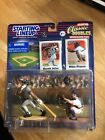 DEREK JETER AND MIKE PIAZZA 2000 CLASSIC DOUBLES INTERLEAGUE STARTING LINEUP