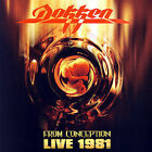 Dokken : From Conception: Live 1981 CD