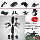 Motorcycle Fairing Bodywork Panel Kit For Kawasaki KLX250 KLX 250 08-19 (12PCS)
