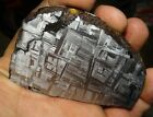 AMAZING 224 GM MUONIONALUSTA ETCHED METEORITE SLICE