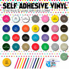 40 Pack Self Adhesive Vinyl Sheets Colors Cricut Silhouette Cameo Decal 12x12