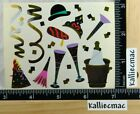 Mrs Grossman NEW YEARS PARTY Stickers HAPPY NEW YEAR NEW YEAR EVE 1 2 SHEET