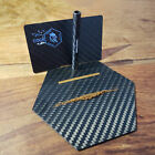 Carbon By Charlie Luxury Carbon Fiber Plates And Card and Straw Kit USA Original