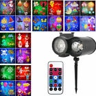 Multiple Theme Ocean Wave Projector Light With Remote 20 Slides Christmas Deco