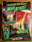 Topps Mars Attacks Widevision Movie Cards Factory Sealed Wax Box, 1996, 36