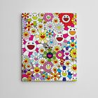 16X20 Gallery Art Canvas Takashi Murakami Flowers Smiley Faces Complexcon