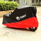 Motorcycle Cover Black Red XXL Waterproof Bike Outdoor Rain Dust UV Protector US