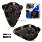 Turnable Black Air Cleaner for harley Sportster 883 Low XL883L air filters 1200