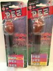 Lot of 2 2009 PEZ Candy Dispensers Arkansas Razorbacks Football NEW