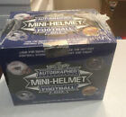 2018 Leaf Autographed Mini Helmet Football Box - Unopened - Sealed