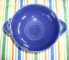 Vintage Fiesta COBALT BLUE Cream Soup Bowl ~