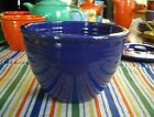 Vintage Fiesta COBALT BLUE MIXING BOWL #2 ~ INSIDE RINGS ~