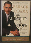 SIGNED by President Barack Obama THE AUDACITY OF HOPE HB DJ Crown 2006