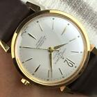 MINT ULYSSE NARDIN 18k GOLD PLATED AUTOMATIC MEN'S WATCH FROM 60's