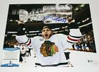 CHICAGO BLACKHAWKS PATRICK KANE SIGNED 2013 STANLEY CUP 11x14 PHOTO BECKETT COA