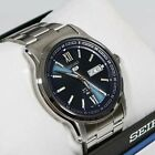 Seiko 5 Blue Dial Day Date Automatic Men's Watch SNKP17K1