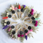 Dry Flower Mini Bouquet Artificial Grass For Valentines Day Gift Wedding Decor
