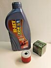 HYOSUNG GT 125 R COMET ENGINE OIL AND FILTER SERVICE KIT MF131 FILTER 10W40 OIL